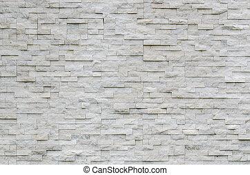 vrai, mur, pierre, moderne, modèle