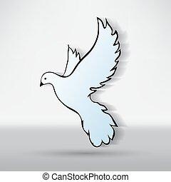 vrede, duif