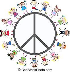 vrede symbool