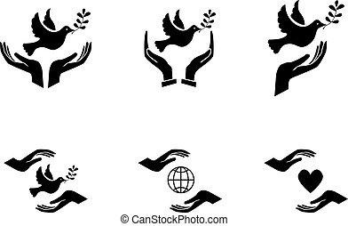 vrede teken