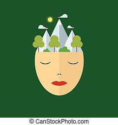 vrede, verstand, natuur