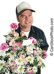 vriendelijk, bloem levering