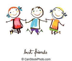 vrienden, best