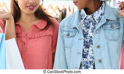 vrienden, shoppen , samen, mooi