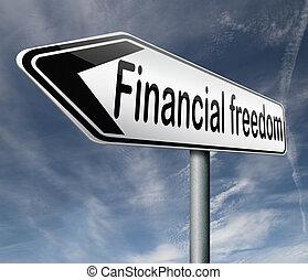 vrijheid, financieel