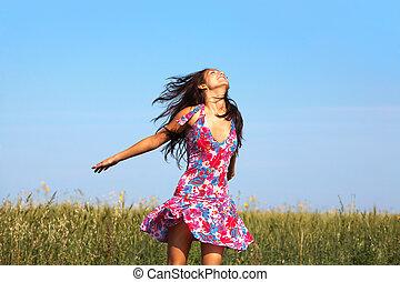 vrijheid, het genieten van