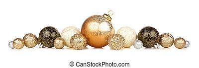 vrijstaand, goud, eva, black , decoraties, nieuw, witte , jaren, grens