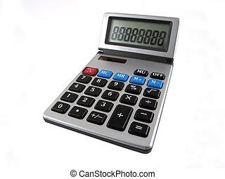 vrijstaand, rekenmachine