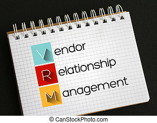 VRM - Vendor Relationship Management acronym