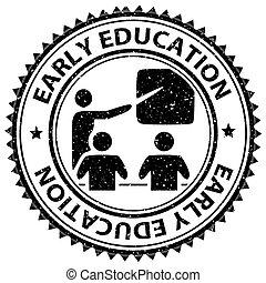 vroeg, ontwikkeling, opleiding