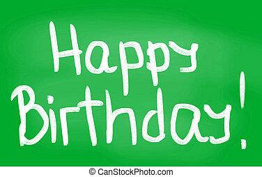 vrolijke , birthday!