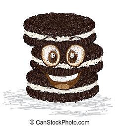 vrolijke , koekjes