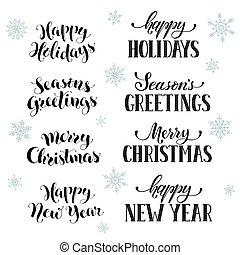 vrolijke , uitdrukkingen, feestdagen