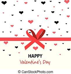 vrolijke , valentines dag, kaart, groet