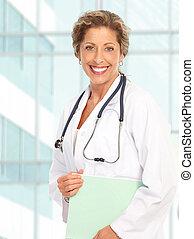 vrouw arts