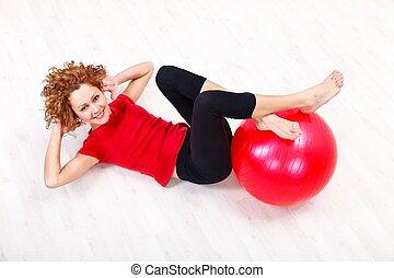 vrouw, Oefening
