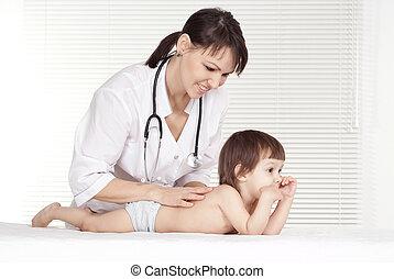 vrouwelijk kind, arts