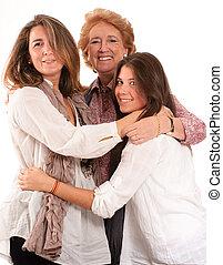 vrouwen, gezin