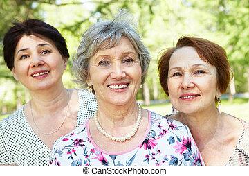 vrouwen, senior