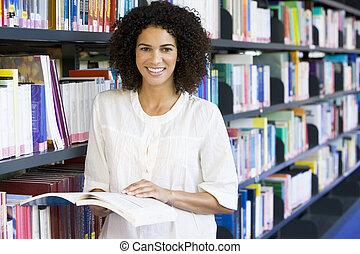vrouwenlezing, bibliotheek
