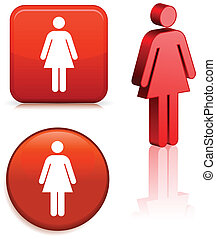 vrouwlijk, staafje cijfer