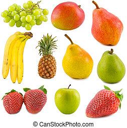 vruchten, verzameling