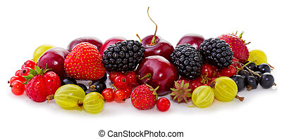 vruchten, white., rijp, vrijstaand
