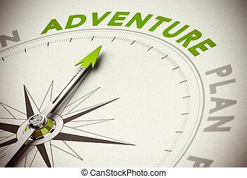 vs, avventura, piano