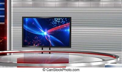 VS_bhavya4 - Virtual set studio for green footage Realize...