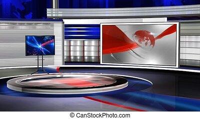 VS_bhavya6 - Virtual set studio for green footage Realize...
