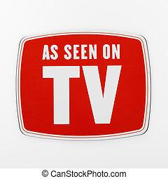 vu, tv.