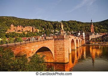 Ch Ef Bf Bdteau Et Vieille Ville De Heidelberg