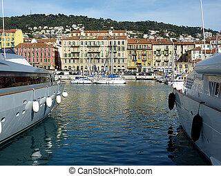 Beau vieux honfleur france port normandie vieux photographie de stock rechercher - Consulat de france port gentil ...