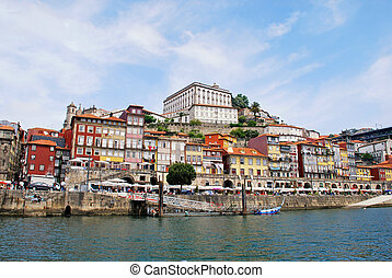 vue, de, porto, portugal