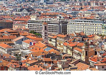Port cityscape nice france au dessus vue beau port photographie de stock rechercher - Consulat de france port gentil ...
