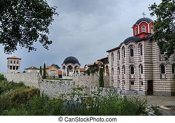 vue, monastère, giginski, général
