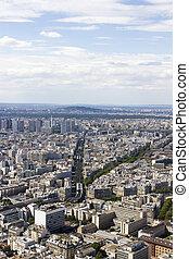 vue,  Montparnasse, aérien,  paris,  france
