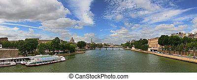 vue panoramique, paris.