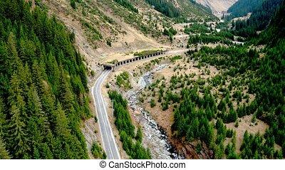 vue panoramique, transfagarasan, route