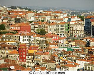 vue, portugal, porto, district, ribeira