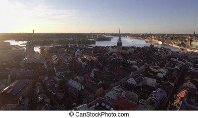 vue, stockholm, ville