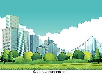 vue ville