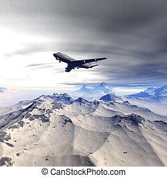 vuelo, airliner