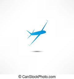 vuelo, avión
