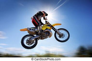 vuelo, moto