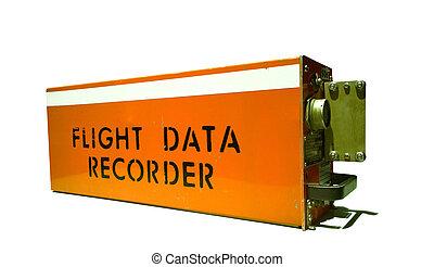vuelo, registrador, datos