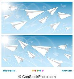 vuelos, bandera