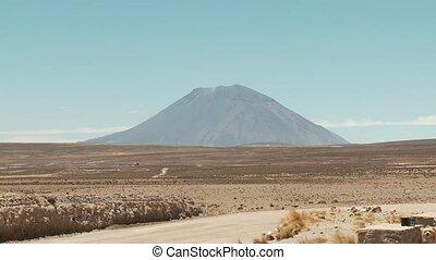 Vulcan Misti Peru