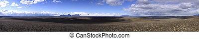 vulcanico, disertare paesaggio