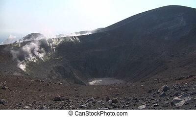 Vulcano crater 05 - Grand crater Vulcano, Italy